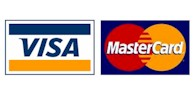 CarterWorx accepts Visa, MasterCard and American Express
